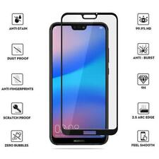 For Huawei P20 Pro Black 5D Tempered Glass Premium Screen Protector CaseFriendly