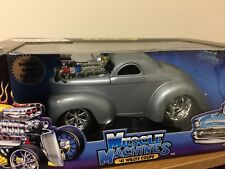 """1:18 Die cast Muscle Machines """"41 Willys Coupe"""
