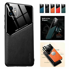 Magnetic Shockproof Leather Case For iPhone Mini 12 11 Pro Max XR X XS 7 8 Plus