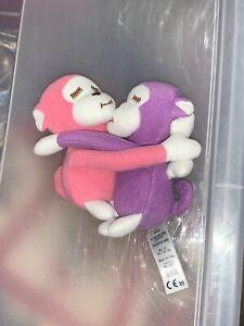 """American Girl 18"""" Doll Julie Snack Set Hugging Monkeys Only"""