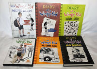 Lot Of 5 DIARY OF A WIMPY KID (Jeff Kinney) books Plus Movie