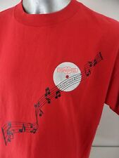 Drambuie Top Hits II Scotch Whiskey Music Notes Vintage 90s XL USA T Shirt Wear