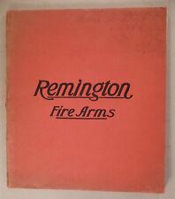 Remington Fire Arms CATALOG - 1909 ~~ firearms, shot guns, rifles