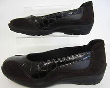 Easy B 78307B Ripon Ladies Chocolate Brown Shoe UK 6 to 7 EE Fit  (R43A)