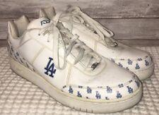 Vtg Reebok Mens White/Blue LA Dodgers Authentic Athletic Shoes Size 13
