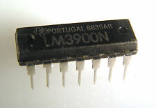 Texas Insts LM3900N Op Amp Quad High Gain Integrated Circuit OM0030 1 piece