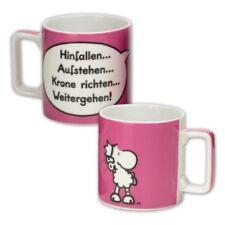 witzige SHEEPWORLD Wortheld Tasse Krone Kaffeetasse Kaffeebecher Geschenk
