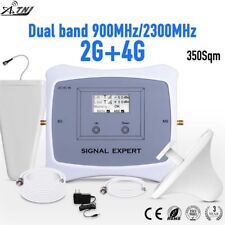 Dual Band 900/2300MHz Mobile Signal Booster 2G 4G Signal Repeater forEurope Asia