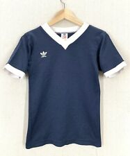 Vintage 80's Adidas Trefoil Super Soft 50/50 Santiago T-Shirt Sz S/XS