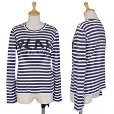 PLAY COMME des GARCONS long sleeve top Size S(K-33941)