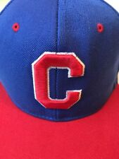 Chicago Bulls Blue And Red Cap Or Hat Flat 3 D Letters NBA Snap Back NOS