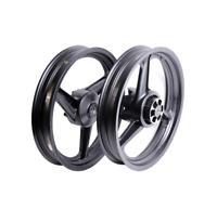 Paire de Jantes/roues 17 Pouces noir AV+AR pour moto derbi GPR 50cc jusqu'a 2003