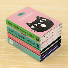 Cute Animal 180 Pages 4 Folding Memo Pad Sticky Note Post Page Marker Planner