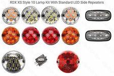 TD5 / TDCi RDX LED XS Stil 10 Licht / & Seite Blinker Defender 1998 to 2016 S