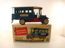 SHIOJI & CO JAPON CRAGSTAN 30140 ANTIQUE AUTOBUS tôle friction tin toy RARE