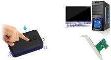 Desktop PC Mini PCI-e Wireless Remote Control Switch Turn On OFF Computer
