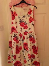 Cath Kidston Ardingly Rose Summer Dress Size 12 Wedding Outfit