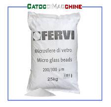 MICROSFERE DI VETRO PER SABBIATRICE GRANA 200-300 25KG