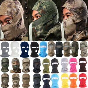 Cycling Balaclava Motorcycle Full Face Cover Up Ski Windproof Warm Neck Helmet