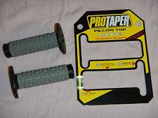7/8 inch PILLOW TOP PRO TAPER HANDLE BAR MX GRIP SET ATK BETA BSA BULTACO CZ DKW