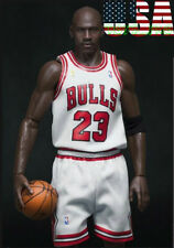 1/6 Scale Michael Jordan Chicago Bulls White Jersey 23 For Enterbay Body ❶USA❶