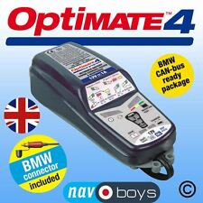 OptiMate 4 BMW Can Bus Inc. 12v Battery Saving Charger Tester and Maintainer