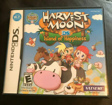 Harvest Moon: Island of Happiness Nintendo DS DSi. With Manual Good Condition