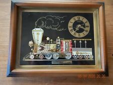 Vintage Linden Clock 1855 Steam Locomotive TRAIN