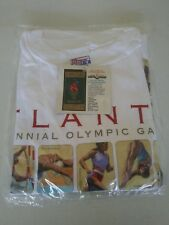 *VINTAGE 1996 ATLANTA CENTENNIAL OLYMPIC GAMES T-SHIRTS SIZE XL SEALED NEW/TAGS*