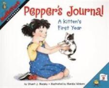 Kids fun paperback gr2-4:Pepper's Journal-A Kitten's First Year-Math Start Story