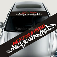 NEEDFORSPEED Car Styling Front Windshield Decal Vinyl Car Stickers Window Deco