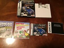 Top Gear Rally Nintendo Gameboy Advance GBA BOX + MANUAL ONLY NG4