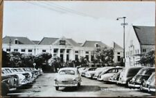 Curacao, NWI/DWI 1940s Realphoto Postcard: Town Hall - Dutch West Indies