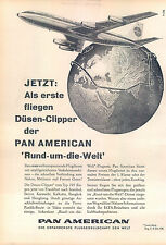 PanAm-707-Clipper-1959-Reklame-Werbung-vintage print ad-Publicidad