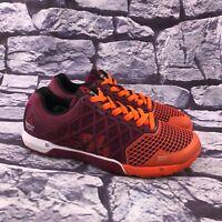 Reebok Crossfit Nano 4.0 Women's Red Orange Cross Training Shoes Size 8.5