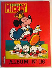 ALBUM LE JOURNAL DE MICKEY n°116 ¤ avec n°1724 à 1632 ¤ 1985 DISNEY