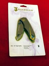 Guardian mint in package liner lock stainless folding knife