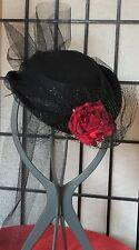 MINI19th CENTURY STEAMPUNK TOURING LADIES VICTORIAN ERA REPLICA COSTUME HAT-OSFA