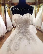 STUNNING WEDDING DRESS BY BNWT SIZE 12 /14 White