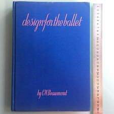 "1937 RUSSIAN THEATER ""COSTUME DESIGN BALLET"" BOOK.GONTCHAROVA,DOBUZHINSKY,BENOIS"