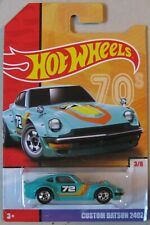 Hot Wheels Target Throwback series CUSTOM DATSUN 240 Z 3/8 teal blue