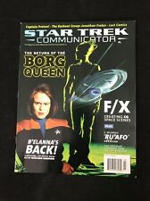 Star Trek Communicator Magazine #121/Borg Queen/Roxann Dawson/Jonathan Frakes