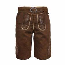 Speckige Herren-Trachten Lederhosen Größe 48