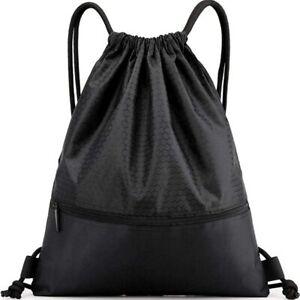 Large Gym Sack Drawstring Backpack for Sport Traveling Basketball Yoga Running