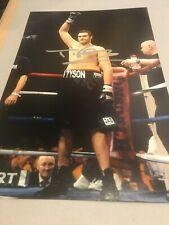 Tyson Fury Signed Photo. Boxing Memorabilia Autograph