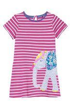 Mini Boden Elephant Pink Short Sleeve Dress 2-3 Years