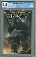 Joker Year Of The Villain #1 CGC 9.8 Francesco Mattina Variant Cover A Carpenter
