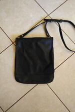 COACH 12 x 11 Crossbody   Messenger  Shoulder Handbag Black   Leather Purse
