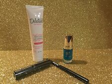 Delectable Lotion, Margaret Dabbs Nail Polish, PUR Mascara, Beauty Eyeliner, New
