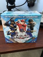 2020 Topps Chrome Sapphire Edition Baseball Hobby Box Break! $15, RANDOM team!